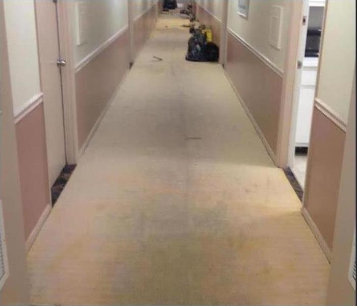 Commercial Water Damage – Farmington Offices After