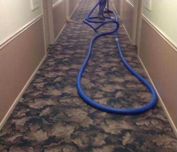 Commercial Water Damage – Farmington Offices Before