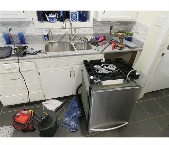 Dishwasher removed to fix